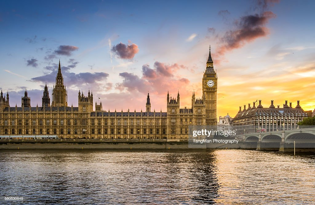 Evening Big Ben : Stock Photo