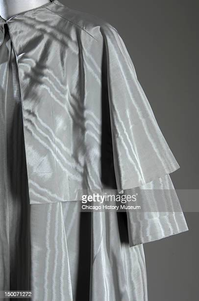Evening coat ca 1950 Silk moire by Cristobal Balenciaga