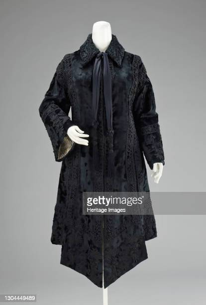 Evening coat, Scottish, 1880-89. Artist Henry, Darling & Company.