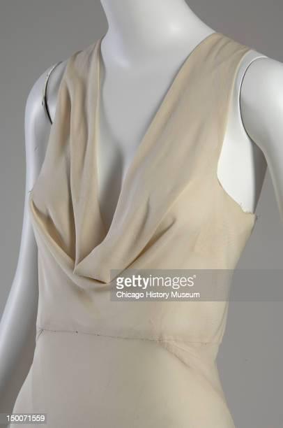 Evening dress 1932 Silk crepe by Madeleine Vionnet