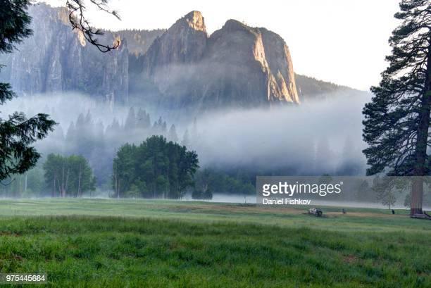 Evening Fog - Yosemite Valley
