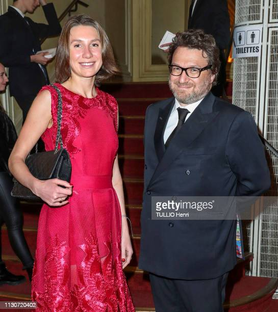 Evening gala for the 12th anniversary of the Albert II of Monaco Foundation at the Salle Gaveau in Paris on February 21 2019 Alina Achkasova and...