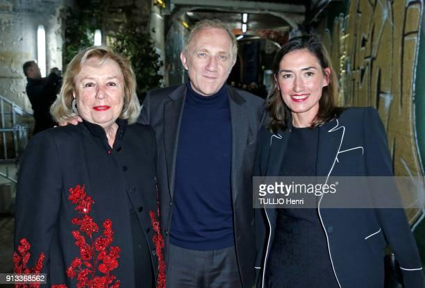 Evening gala Vendorama at the Monnaie de Paris Museum for the 160 anniversary of Boucheron Jewellery in Paris FrancoisHenri Pinault Ceo of Kering...