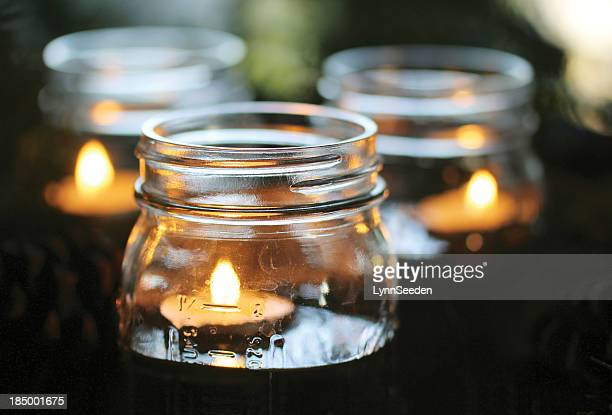 evening glow - candle stock pictures, royalty-free photos & images