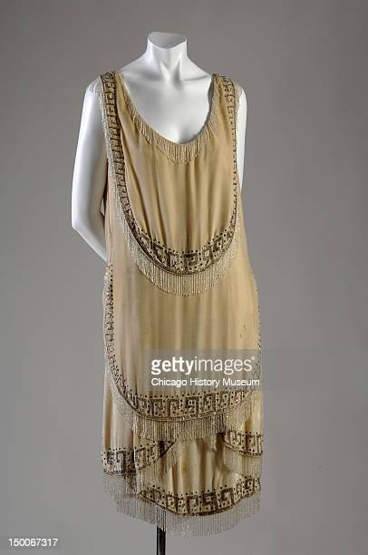 Evening gown 1926 Silk velvet rhinestone glass bead by Gabrielle 'Coco' Chanel