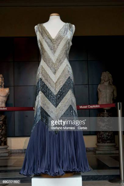 Evening gown created for the american actress Rita Hayworth Preserved in the archives on the Micol Fontana Foundation and restored in 2013 thanks to...