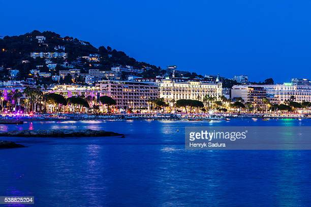 Evening in Cannes