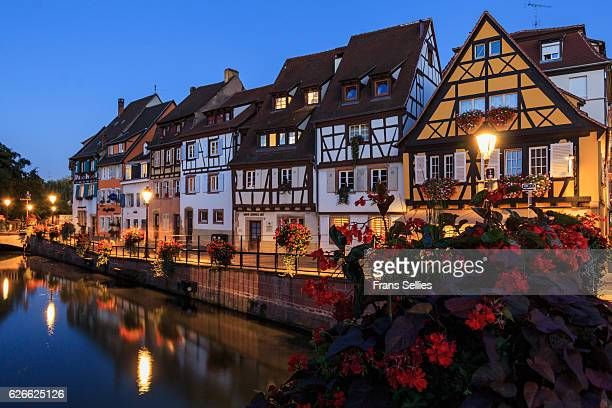 Evening in Colmar, Alsace, France