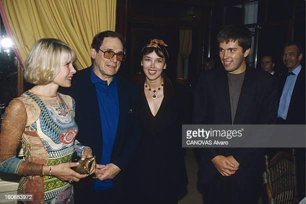Evening In Honor Of Olivier Orban Soirée au Pavillon Elysée à PARIS pour les 50 ans d'Olivier ORBAN et les 20 ans de sa maison d'édition plan de face...