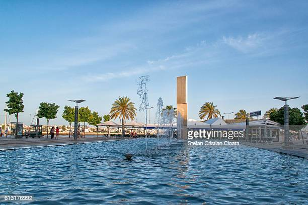 evening in portimao - portimao stock photos and pictures