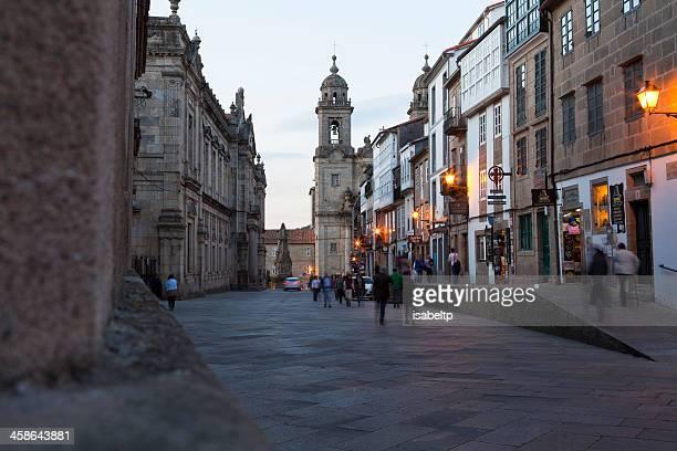 Evening in Santiago