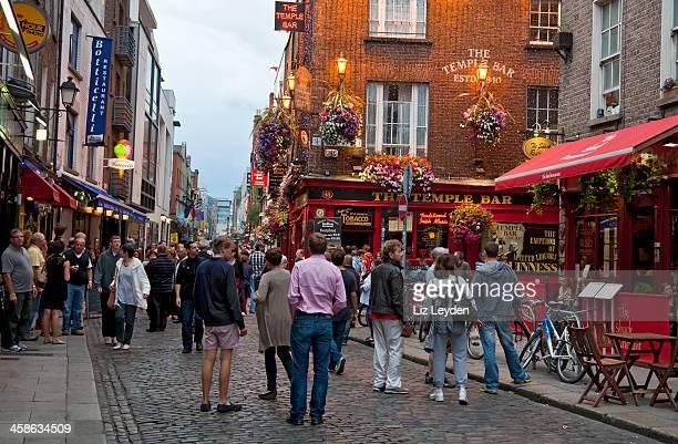 Noche en Temple Bar, de Dublín