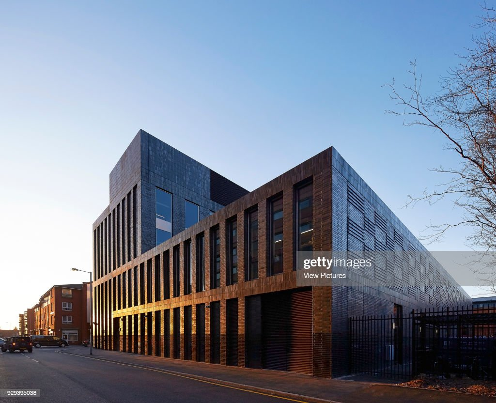 MMU Student Union, Manchester, United Kingdom. Architect: Feilden Clegg Bradley Studios LLP, 2015. : ニュース写真