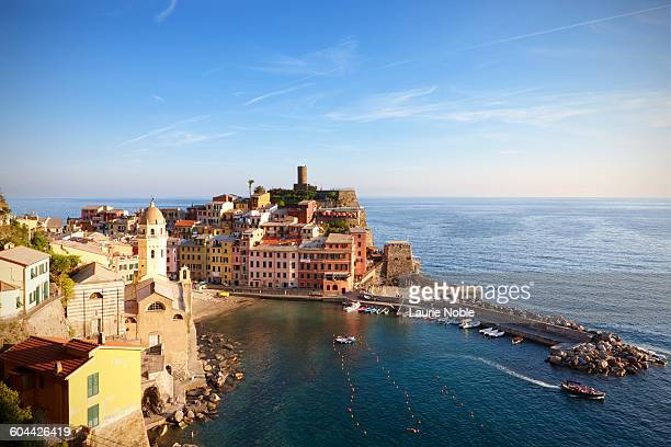 Evening light on Vernazza, Cinque Terre