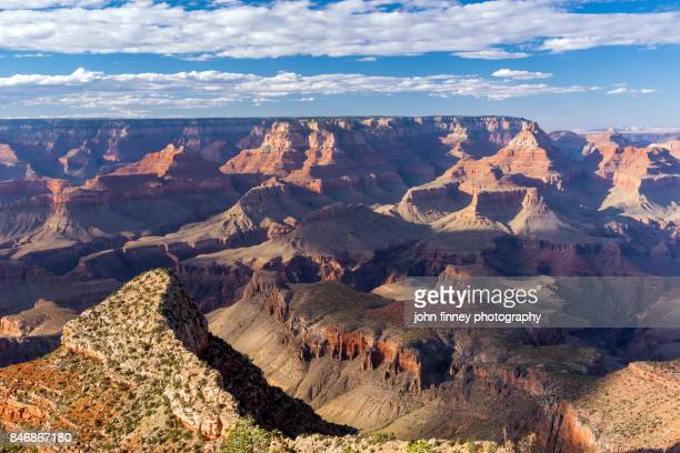 evening light over the grand canyon, arizona. - grand canyon village stock photos and pictures