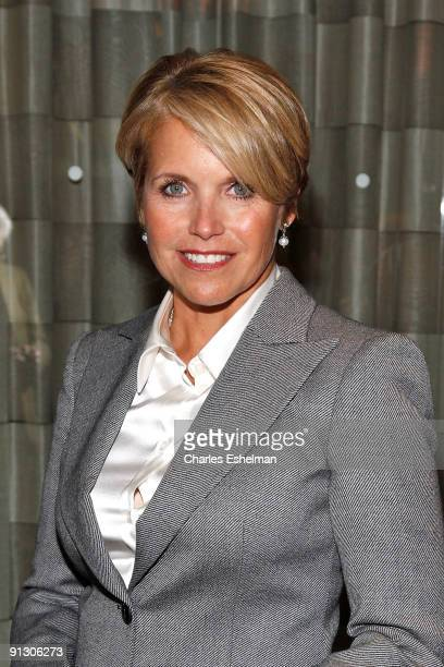 Evening News Anchor and Managing Editor Katie Couric attends the 7th annual Giants of Broadcasting Awards Ceremony at the Grand Hyatt Hotel on...
