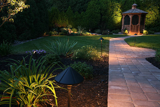 evening oasis - horizontal stock pictures, royalty-free photos & images