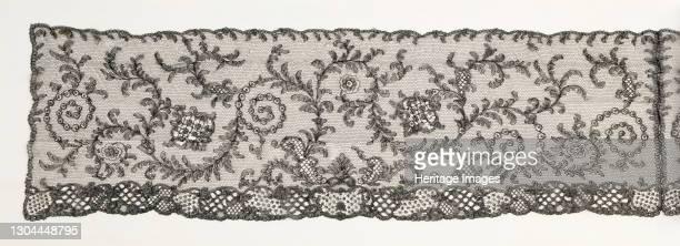 Evening shawl, European, circa 1850. Collected by Rita de Acosta Lydig Artist Unknown.