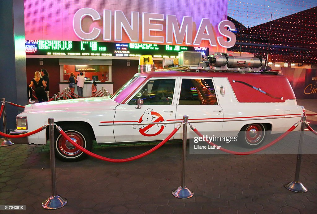 Cadillac Evening News >> Evening Side View Of The Ghostbusters Cadillac Fleetwood Station
