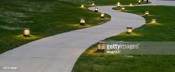 Evening Sidewalk