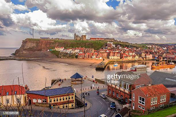 Evening sky in Whitby