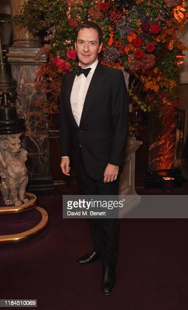 Evening Standard Editor George Osborne attends the 65th Evening Standard Theatre Awards in association with Michael Kors at the London Coliseum on...