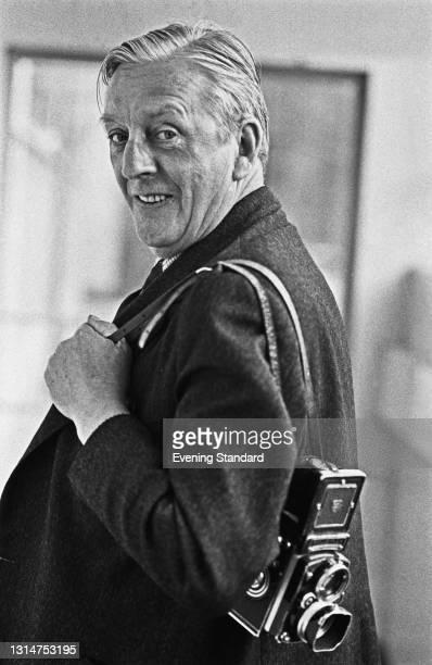 Evening Standard photographer Victor Drees, UK, 22nd July 1974.