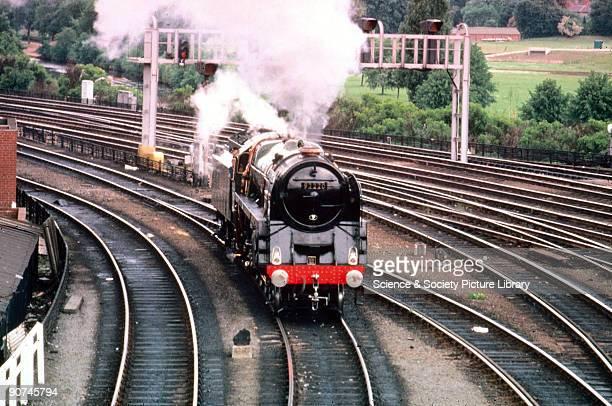 Evening Star' 2100 Class 9F steam locomotive No92220 1960 This locomotive was the last steam locomotive to be built for British Railways It was...