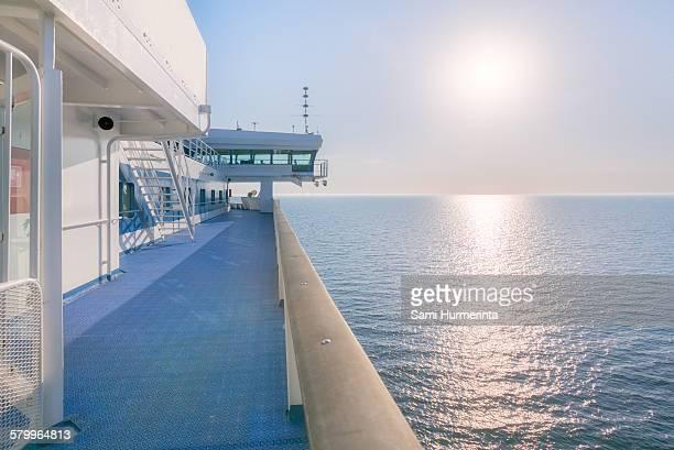Evening sun at the Baltic Sea