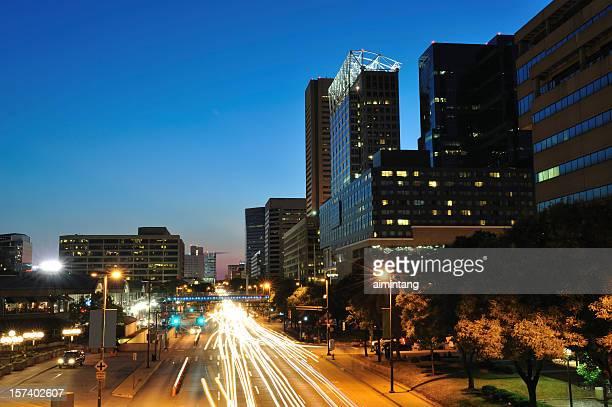 Evening Traffic in Baltimore