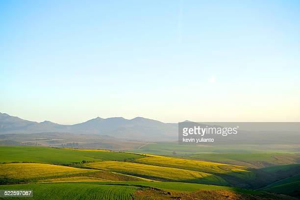 evening twilight - overberg stock pictures, royalty-free photos & images