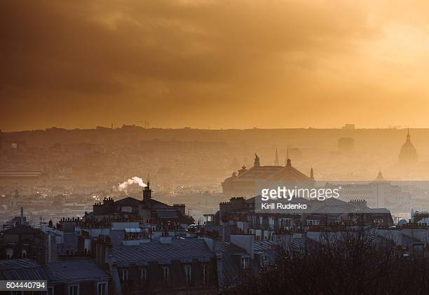 Evening view from Montmartre