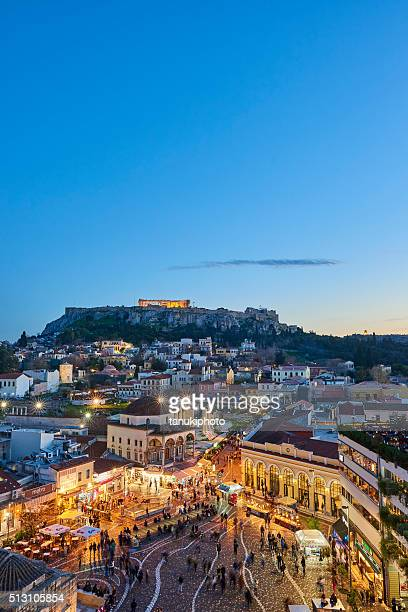 Evening View of Athens