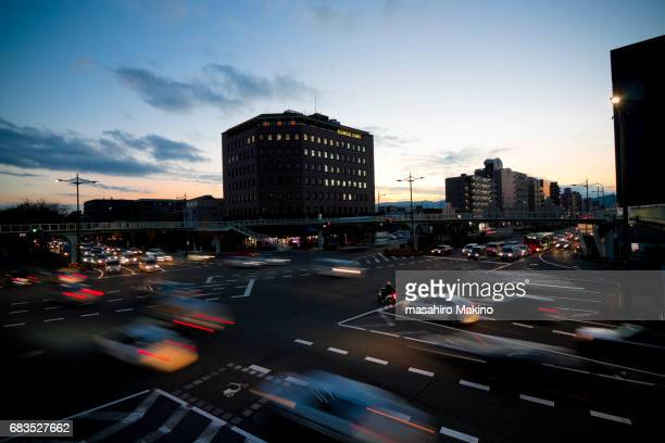 Evening View of Gojo Street, Kyoto City