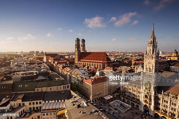 Evening-Light over Munich