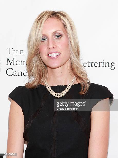 Event chairman Joanna Baker de Neufville attends the Society of Memorial SloanKettering Cancer Center 2012 fall party at Four Seasons Restaurant on...