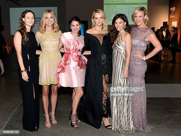 Event Chairs Jenni Kayne Jackie Winnick Sabina Nathanson Kelly Sawyer Norah Weinstein and Ali Taekman attend the 2014 Baby2Baby Gala presented by...