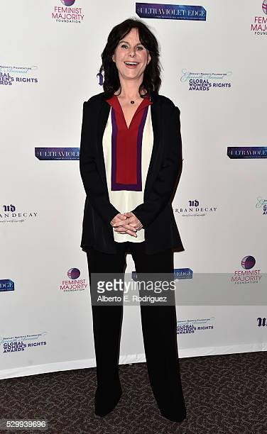 Event cochair Mavis Leno attends the 11th Annual Global Women's Rights Awards at the Directors Guild of America on May 09 2016 in Los Angeles...