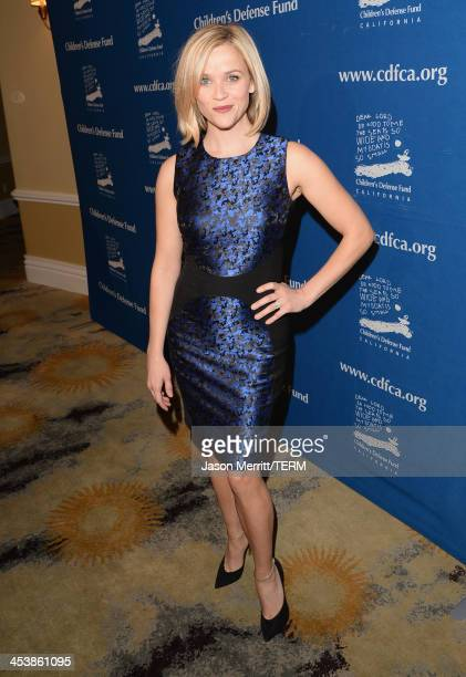 Event CoChair Reese Witherspoon attends 23rd Annual Beat The Odds Awards hosted by Children's Defense FundCalifornia on December 5 2013 in Beverly...