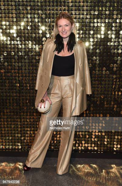Event CoChair Sarah Arison attends the Eighth Annual Brooklyn Artists Ball at The Brooklyn Museum on April 17 2018 in New York City