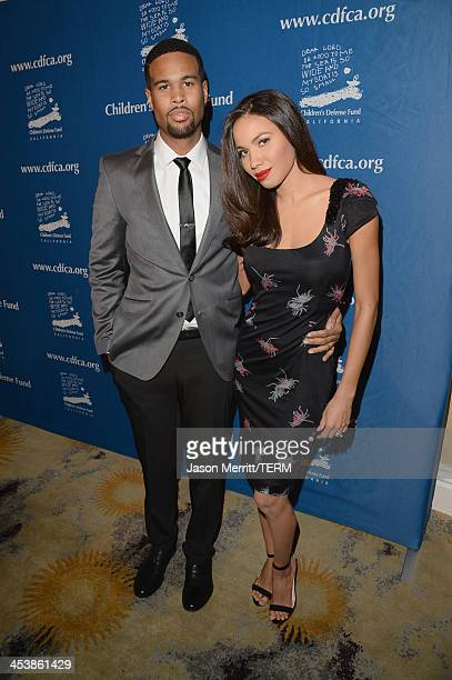 Event CoChairs Josiah Bell and Jurnee Smollett attend 23rd Annual Beat The Odds Awards hosted by Children's Defense FundCalifornia on December 5 2013...