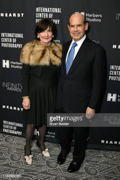Event CoChairs Marjorie Rosen and Jeffrey Rosen attend The International Center Of Photography's 35th Annual Infinity Awards at The Ziegfeld Ballroom...