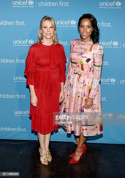 Event CoChair/Southwest Regional Board Vice Chair Joyce Goss and UNICEF CoChair Jessica Nowitzki at the Children First An Evening With UNICEF on...