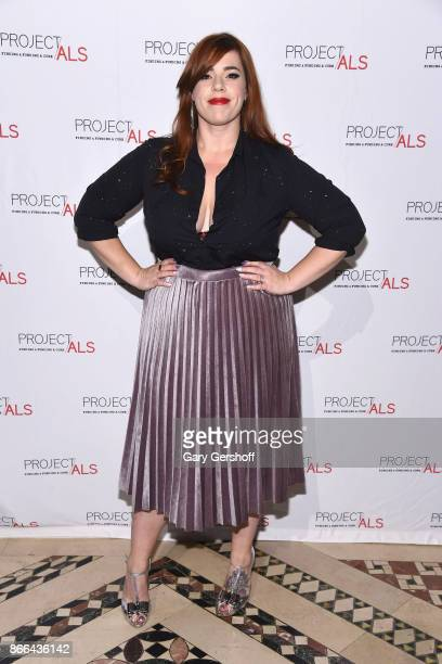 Event entertainer Alysha Umphress attends the 19th Annual Project ALS Benefit gala at Cipriani 42nd Street on October 25 2017 in New York City