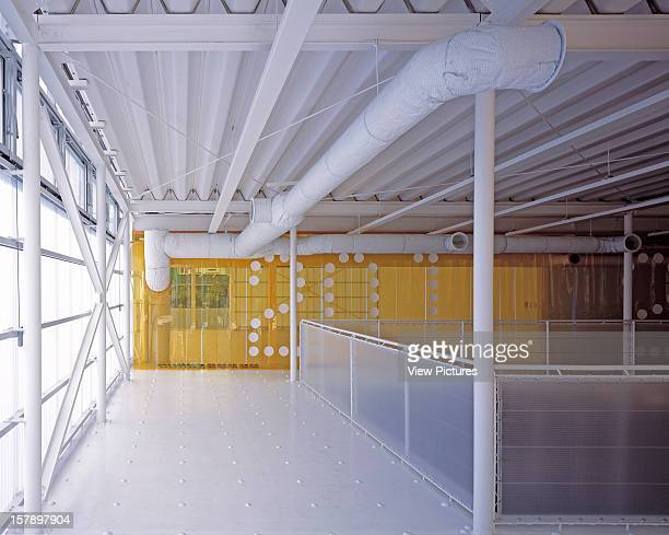 Event Hall Osaka Japan Architect Kengo Kuma Associates Event Hall Interior View