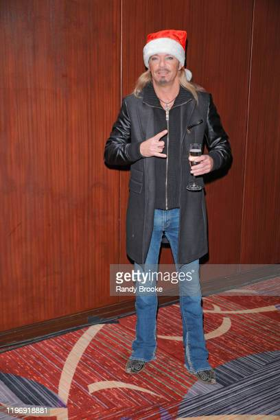 Event Headliner Bret Michaels of Poison attends Marquis NYE 2020 at The New York Marriott Marquis on December 31 2019 in New York City