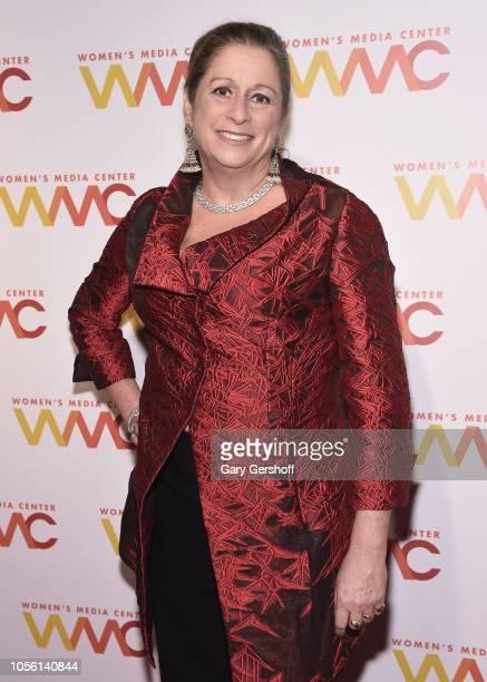 Event honoree Abigail Disney attends The Women's Media center 2018 Women's Media Awards at Capitale on November 1 2018 in New York City