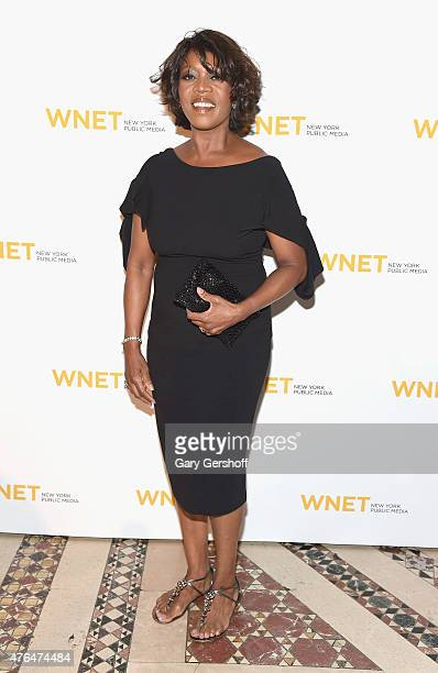 Event honoree Alfre Woodard attends the 2015 WNET Gala at Cipriani 42nd Street on June 9 2015 in New York City