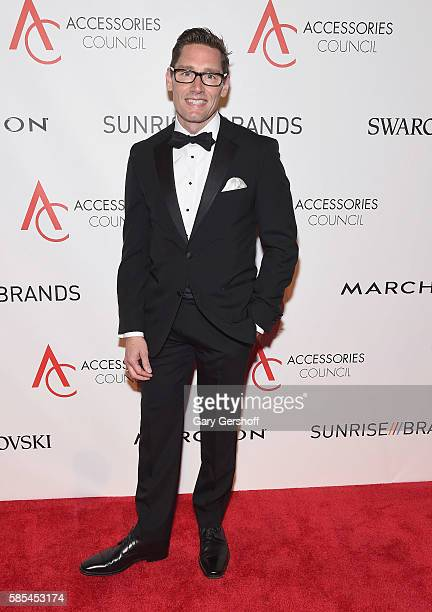 Event honoree costume designer Daniel Lawson attends the 2016 Accessories Council ACE Awards at Cipriani 42nd Street on August 2 2016 in New York City