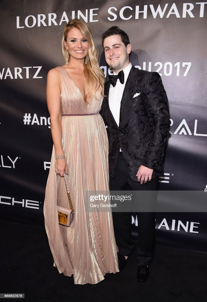 Event honoree Grant Verstandig and guest attend Angel Ball 2017 at Cipriani Wall Street on October 23, 2017 in New York City.